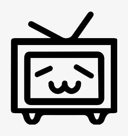 B站电视手绘图片