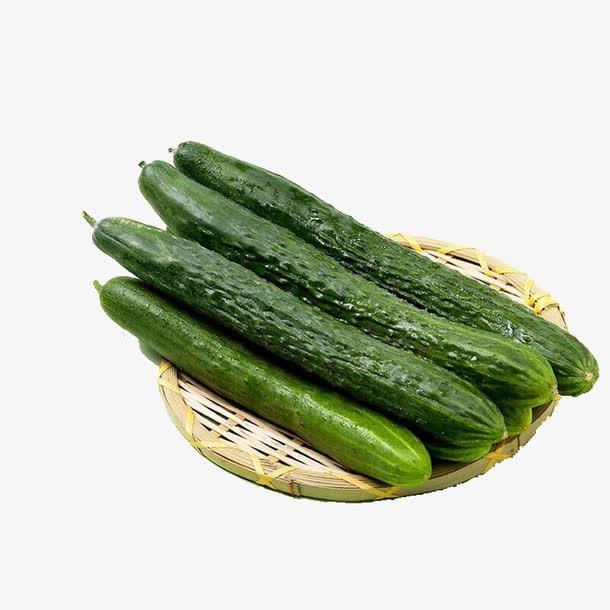 黄瓜实物PNG免抠