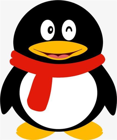 QQ企鹅矢量图标