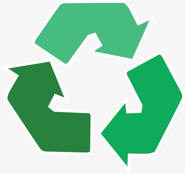 绿色循环环保图标