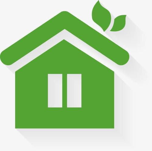 绿色房子logo小图标
