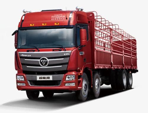 红色大货车
