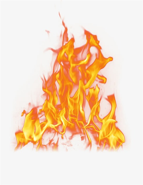 燃烧的火焰免扣png素材