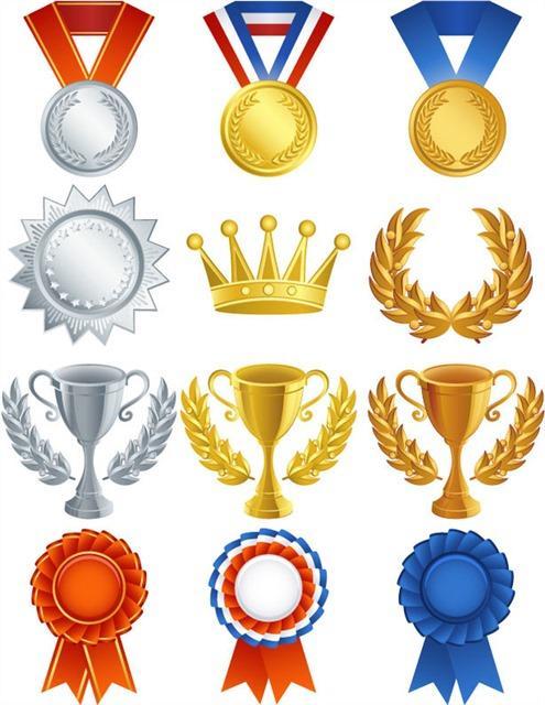 奖杯奖牌图标