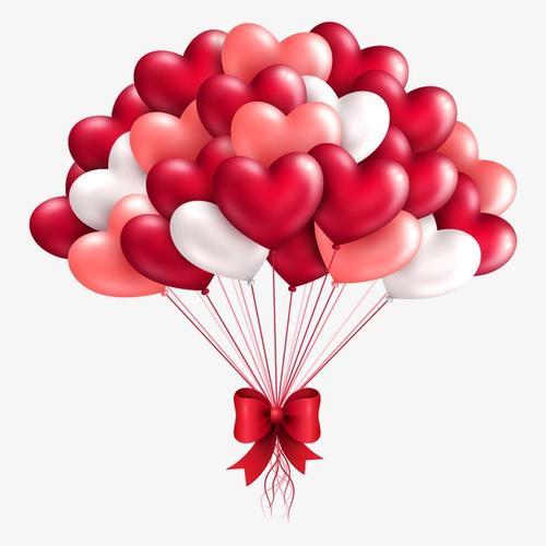 婚庆爱心气球