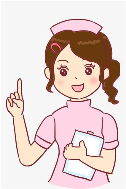 护士讲课卡通人物