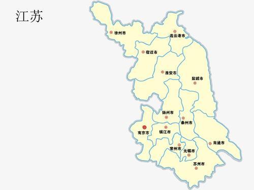 江苏地图全图