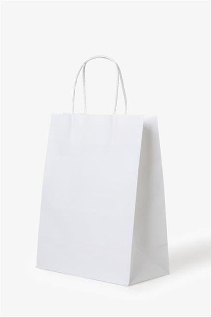 白色购物纸袋