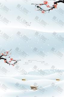 唯美雪景手机壁纸