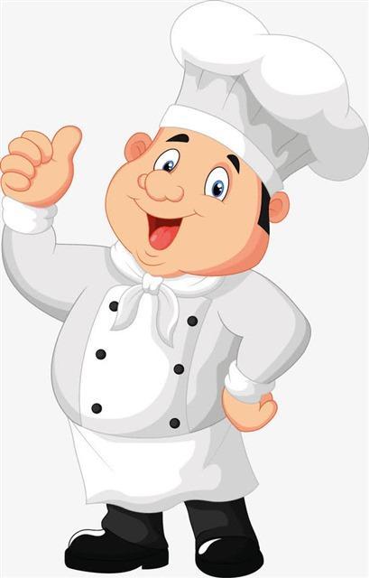 厨师竖大拇指卡通人物