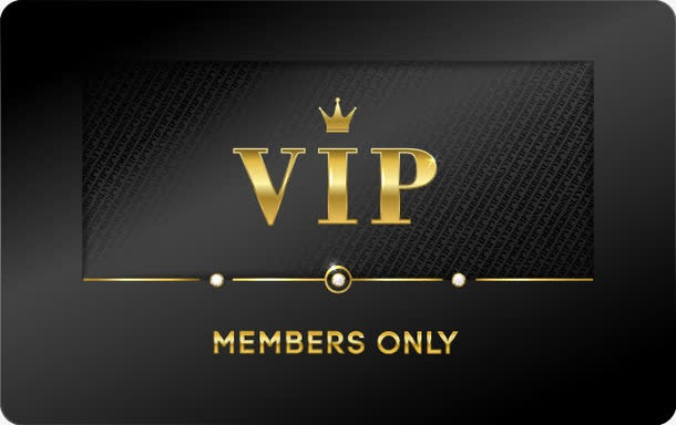 精美VIP会员卡