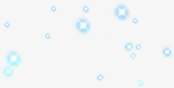 蓝色星光效果图