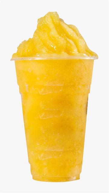 芒果冰沙奶茶免抠图