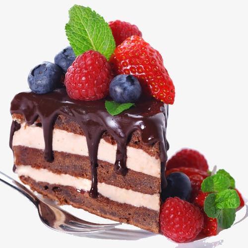 草莓蛋糕实物图