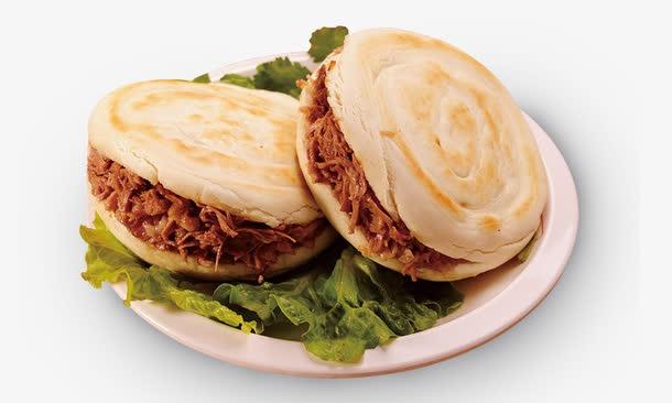 西安美食肉夹馍