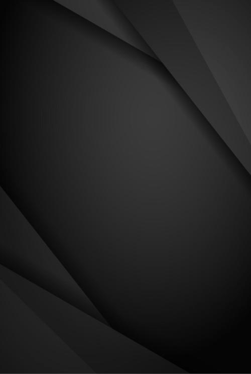 黑色几何图案科技感背景