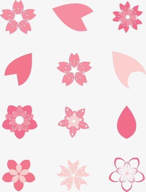 粉色花瓣免抠图片