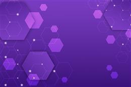 紫色几何图形电商通用背景