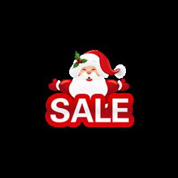 圣诞节促销sale图标