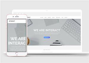 网络科技互联网公司网站