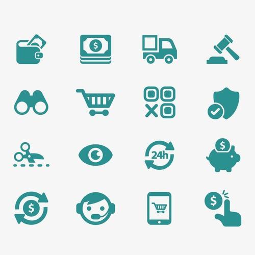 电商元素icon图标