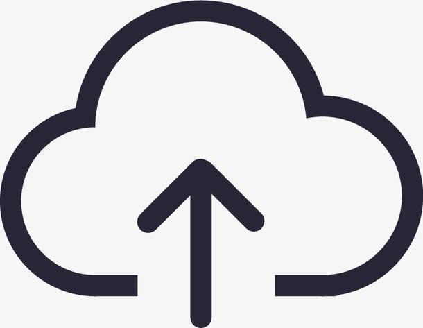 上传云端标志符号