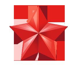 折纸五角星装饰图片