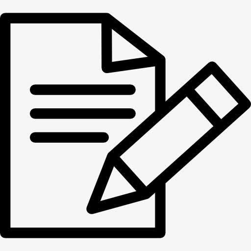 考试测试文档图标