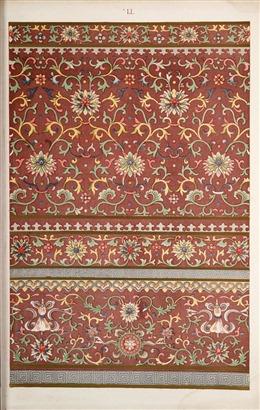 传统古典花纹背景