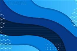 蓝色抽象电商几何背景