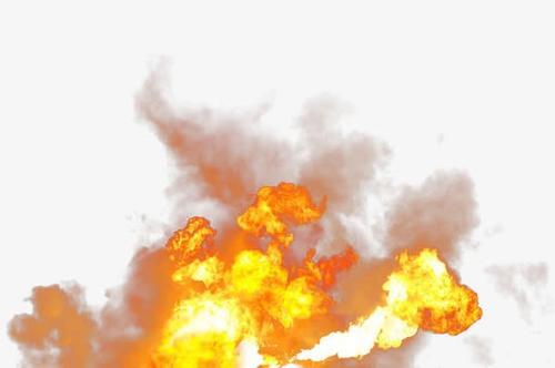 火光爆炸效果图片