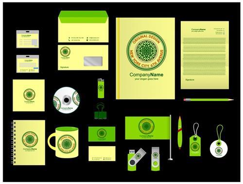 商务公司vi手册模板