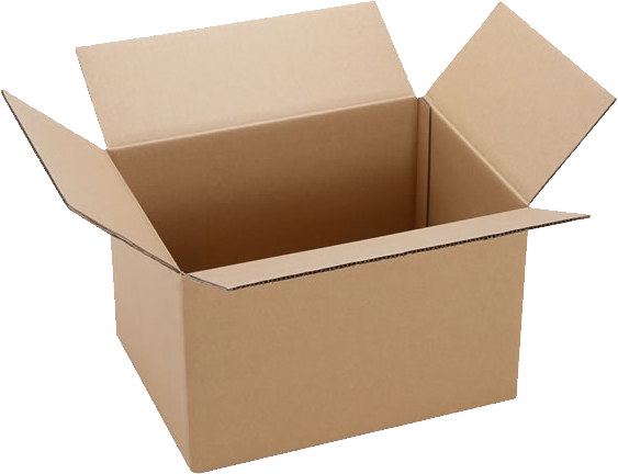 纸箱展开图