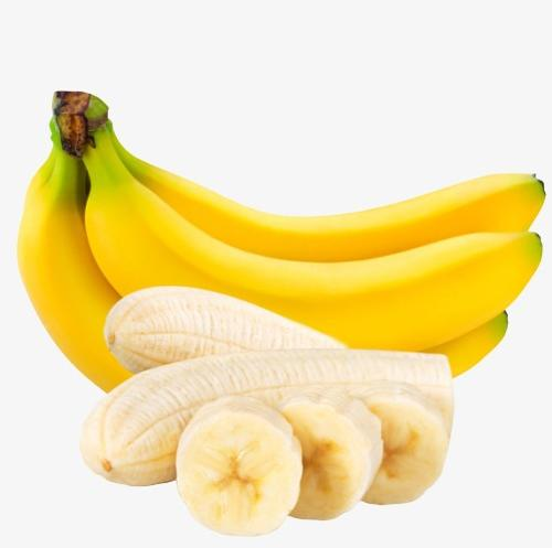 香蕉实拍摄影图