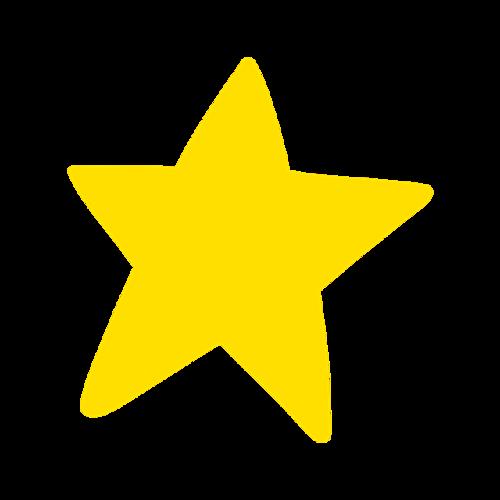 卡通矢量小星星