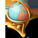 地球仪矢量图标