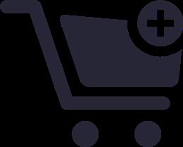 矢量加入购物车图标