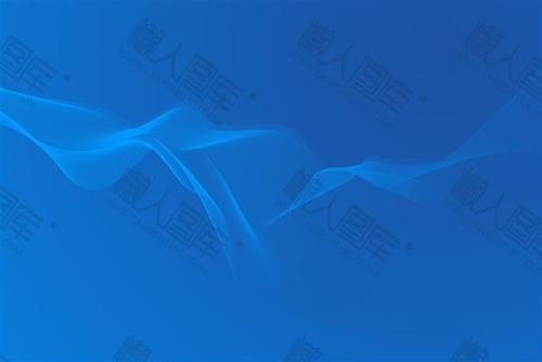 蓝色商务风PPT背景图02