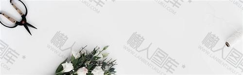 花店banner条背景图