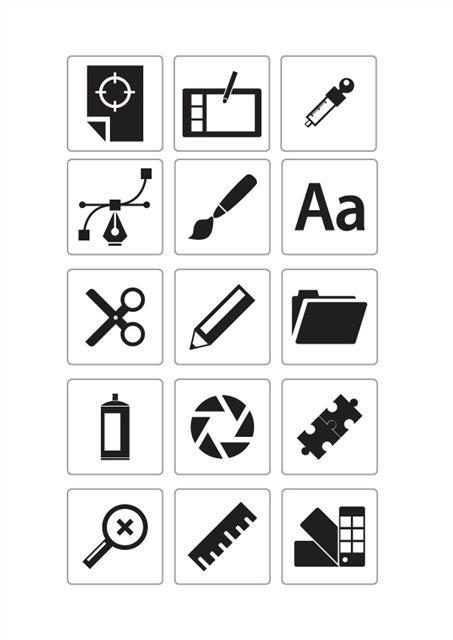 商务办公类图标