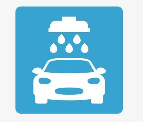 洗车矢量图标