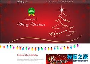 Christmas圣诞节日专题网站模板