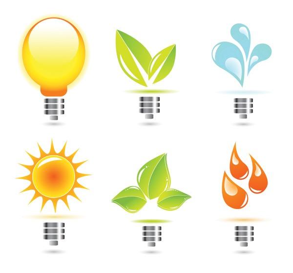 保护环境PPT图标