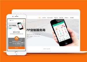 app开发网络科技公司模板