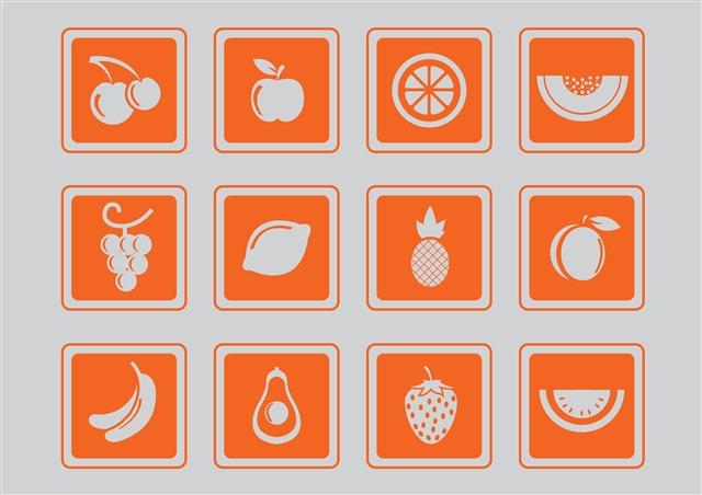 水果图标标志