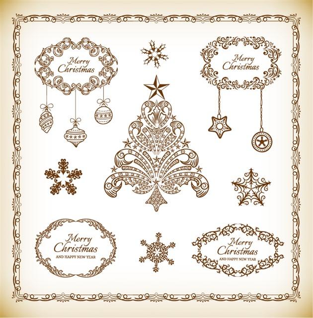 圣诞节封面设计