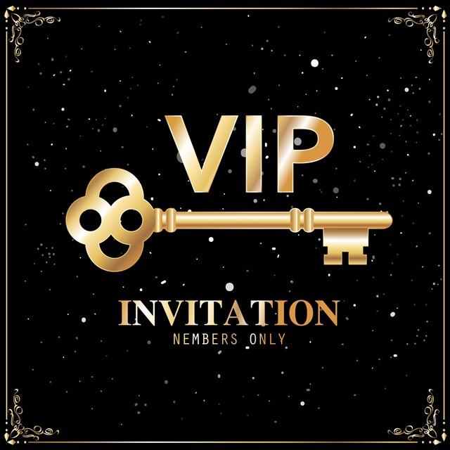 VIP邀请函设计图片
