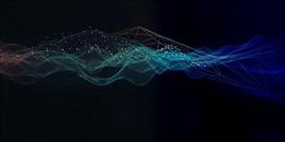 商务科技展板背景图片