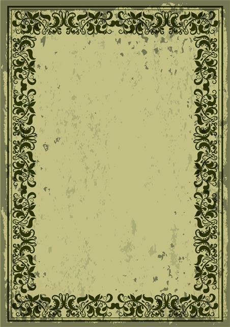 欧式复古怀旧边框