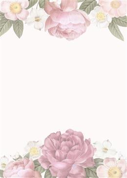 婚礼花卉背景